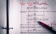How to Line a Film Script