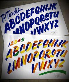 Pierre Tardif Casual alphabet