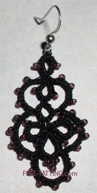 free earrings pattern, just need to learn how to do a split ring!