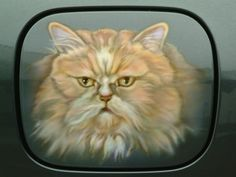 airbrush on car