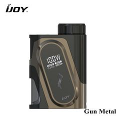 Original iJOY CAPO Squonker Box 100W – Weapon Vape Weapon, Vape, Usb, The Originals, Metal, Smoke, Electronic Cigarette, Electronic Cigarettes, Gun