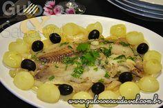 Filé de Peixe com Cebolas Caramelizadas » Peixes e Frutos do Mar, Receitas Saudáveis » Guloso e Saudável