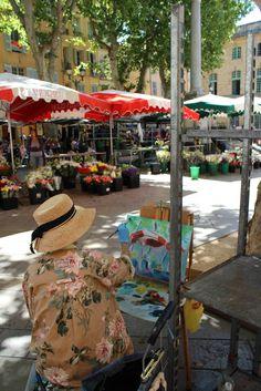 Market, Aix-en-Provence, Provence, France