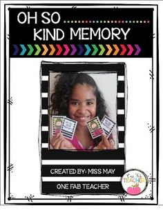 This product was created to continue with implementing bucket filling and kindness in my classroom. There is a total of 32 cards. Students can play with a partner or in small groups. Oh So Kind Memory is a great game for early finishers, when your students arrive in the morning, or