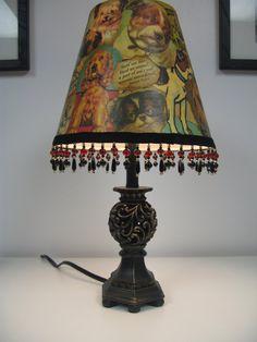 Dog Themed Lamp