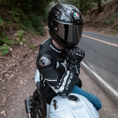 Motorcycle Jackets, Bike Style, Full Face, Sport Bikes, Helmets, Golf Bags, Biker, Vehicles, Happy