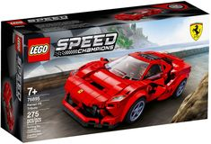 Shop LEGO Speed Champions Ferrari Tributo 76895 at Best Buy. Find low everyday prices and buy online for delivery or in-store pick-up. Lego Cars, Lego Auto, Ferrari Racing, Ferrari F40, Lamborghini, Toy Model Cars, Model Cars Kits, Kit Cars, Legos