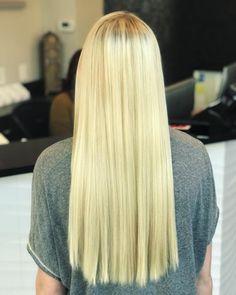 Perfect platinum blonde