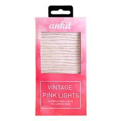 Ankit Vintage String Lights Pink