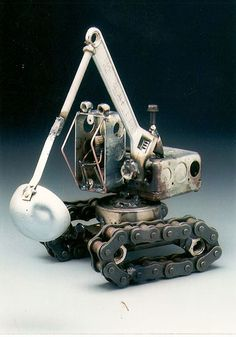 BackHoe. Dick Cooley Sculptural Metal Designs