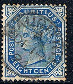 Mauritius Stamps 1879 Queen Victoria SG 105 Fine Used Scott 72 Other Mauritius Stamps HERE