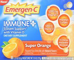 Emergen-C Immune Plus - Super Orange - 30 Packets