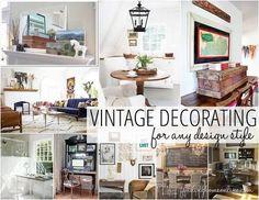 Vintage Decor - Design Ideas