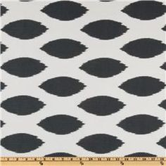 Great fabric for curtains and pillows in grey master bedroom
