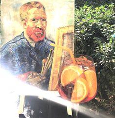 The last days of summer Last Day Of Summer, Van Gogh, Menu, Painting, Fictional Characters, Food, Art, Menu Board Design, Art Background