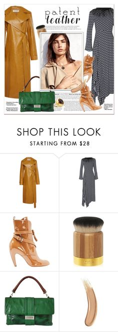 """#patentleather - City Slickers"" by stylemeup-649 ❤ liked on Polyvore featuring Nina Ricci, Dorothee Schumacher, Call Of The Wild, Louis Vuitton, tarte, Lanvin, Burberry and Gucci"