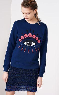 Eye Sweatshirt for Women Kenzo | Kenzo.com