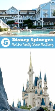 Want to know which Walt Disney World experiences are totally worth the extra money? These are the 5 Disney splurges that will make your Disney vacation even more memorable. Disney Vacation Club, Disney Vacation Planning, Disney World Planning, Walt Disney World Vacations, Disney Resorts, Disney Cruise Line, Disney Travel, Disney Parks, Disneyland Vacation