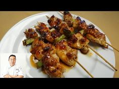 (87) Succulent Yakitori (Chicken) - How To Make Series - YouTube