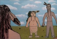 "SWAIA artist Steven Paul Judd directs the animated short ""Shhh!"", scheduled to show at the 2013 Native Cinema Showcase! #nativeamerican #nativeamericanart #film #cinema #swaia"