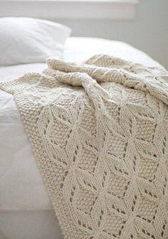 Irish crochet &: PLAID ...........ПЛЕД