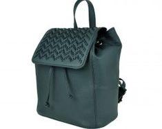 Kožený ručne vyšívaný ruksak v čiernej farbe (2) Leather Backpack, Fashion Backpack, Backpacks, Bags, Handbags, Leather Book Bag, Leather Backpacks, Taschen, Purse