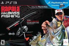 Rapala Pro Bass Fishing with Rod Peripheral - Playstation 3