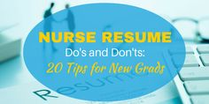 An impressive nurse resume is essentialin getting your first job after graduation. Creating a resume for the first time can be a challengesince it's tricky to determine the most important informa…