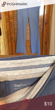 GAP Body Sweats Blue GAP Body form fitting sweatpants. Great condition! Super comfy. GAP Pants Track Pants & Joggers