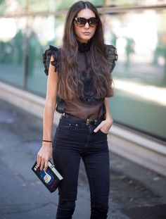 diletta-bonaiuti-look-calca-jeans-blusa-transparente