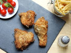 Try this fried chicken recipe and get more comfort food recipes and ideas from Genius Kitchen. Crispy Fried Chicken, Fried Chicken Recipes, Most Popular Recipes, Favorite Recipes, Hot Pepper Sauce, Hot Sauce, White Meat, Southern Recipes, Southern Food