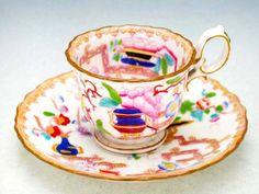 Minton 1880 Teapot Cookies, China Rose, Tea Strainer, Fun Cup, China Tea Cups, Tea Service, Kettles, Chocolate Pots, Tea Cup Saucer