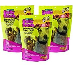 Fido Belly Bone Yogurt Dog Bone – Small 13ct (Pack of 3)