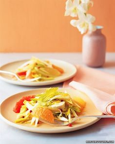 Endive Salad with Grapefruit and Chèvre Recipe