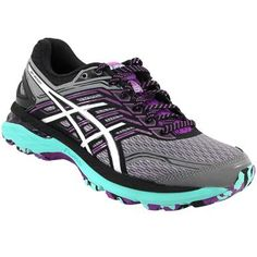Asics Gt 2000 5 Trail Trail Running Shoes - Womens Grey