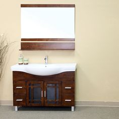 "Bellaterra Home Stoddard 48"" Single Vanity Set"
