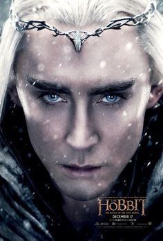 Thranduil is the latest character poster from The  Hobbit The Battle of the Five Armies!