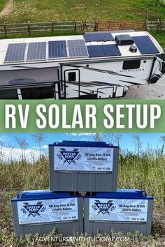 Rv Solar Panels, Solar Panel System, Our Solar System, Retro Travel Trailers, Rv Upgrades, Solar Panel Installation, Rv Parks, Rv Travel, Rv Life