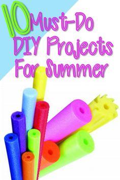 10 Must-Do DIYs for Summer