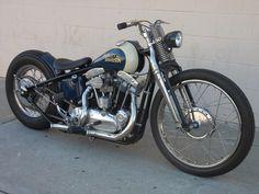 Harley Davidson old school bobber #motorcycle #motorbike