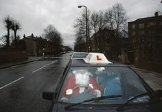Chris Steele-Perkins G. Father Christmas delivering presents on Christmas Day. Learning To Drive, Santa Claus Is Coming To Town, Magnum Photos, Father Christmas, Documentary Photography, Favorite Holiday, Shanghai, Yorkie, Documentaries