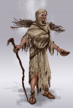 Magna the Beggar. Beggar Female concept art from The Elder Scrolls V: Skyrim by Adam Adamowicz High Fantasy, Fantasy Women, Fantasy Rpg, Medieval Fantasy, Fantasy Character Design, Character Concept, Character Art, Concept Art, Character Ideas