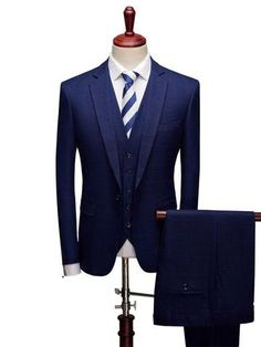Heless Men Formal Solid Regular Fit One Button Suit Dress Vest Waistcoat