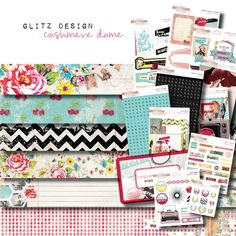 Glitz Design - Cashmere Dame - cha summer 2012