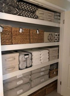 The beauty of linen closet organization makeover 19
