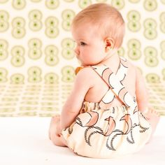 Baby Jumpsuit - key item of the Little Lelia Collection