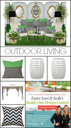 Outdoor Living Moodboard + product +  branding - by Lynda - Focal Point Styling