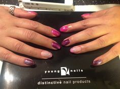 YN Synergy Gels with ManiQ and lots of GLITTER :-)