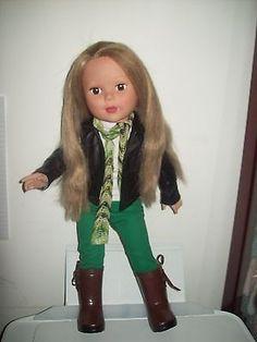 LOT-of-6-Madame-Alexander-18-Doll-Blonde-Hair-Brown-Eyes-w-Boots-Shirt-Jacket