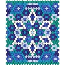 Image result for hexagon quilt